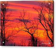 Little More Color At Sunset Acrylic Print