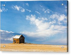Little Old House Acrylic Print by Todd Klassy