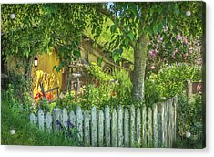 Little Picket Fence Acrylic Print