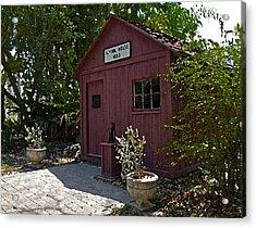 Little Red Schoolhouse Three Acrylic Print