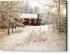 Little Red Acrylic Print by Sue OConnor