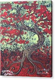 Little Red Tree Series 3 Acrylic Print