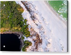 Little Redfish Lake Nestles The Gulf Acrylic Print