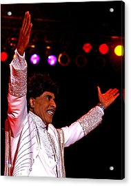 Little Richard Acrylic Print by Bob Guthridge