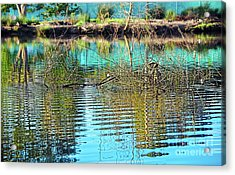 Acrylic Print featuring the photograph Little Ripples By Kaye Menner by Kaye Menner