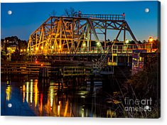 Little River Swing Bridge Acrylic Print