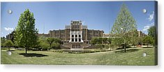 Little Rock Central High Panoramic Acrylic Print by Stephen Stookey