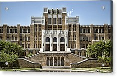 Little Rock Central High Acrylic Print by Stephen Stookey
