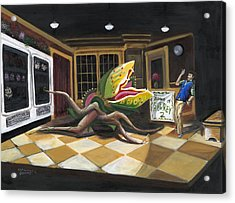 Little Shop Of Horrors Acrylic Print
