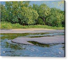 Little Sioux Sandbar Acrylic Print