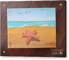 Little Star Fish Acrylic Print by Stella Sherman