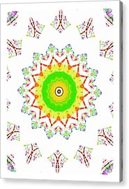 Little Star Of Hope Acrylic Print by Ritchard Mifsud