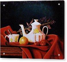 Little Tea Pot Acrylic Print