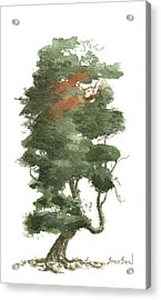 Little Tree 16 Acrylic Print