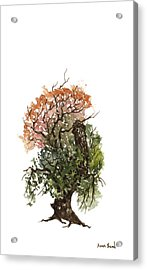 Little Tree 71 Acrylic Print