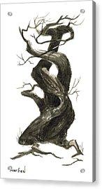 Little Tree 79 Acrylic Print by Sean Seal