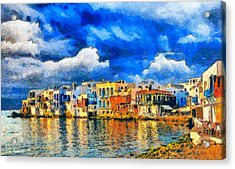 Little Venice Acrylic Print