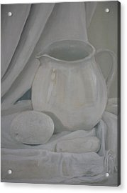 Little White Jug Acrylic Print