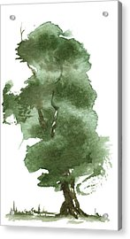 Little Zen Tree 162 Acrylic Print