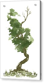 Little Zen Tree 177 Acrylic Print