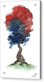 Little Zen Tree 290 Acrylic Print by Sean Seal