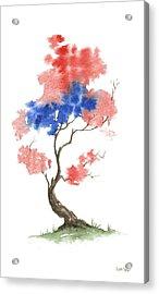 Little Zen Tree 291 Acrylic Print by Sean Seal