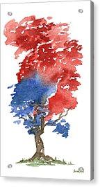 Little Zen Tree 292 Acrylic Print by Sean Seal
