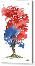 Little Zen Tree 292 Acrylic Print