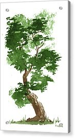 Little Zen Tree 311 Acrylic Print