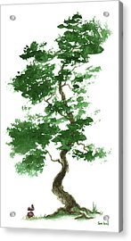 Little Zen Tree 365 Acrylic Print