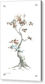 Little Zen Tree 444 Acrylic Print