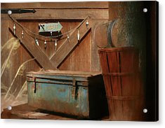 Acrylic Print featuring the photograph Live Bait by Lori Deiter