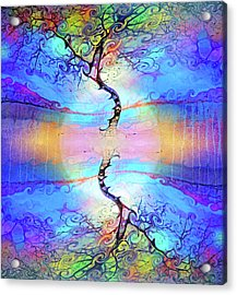 Live Laugh And Love Acrylic Print