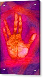 Live Long And Prosper Acrylic Print