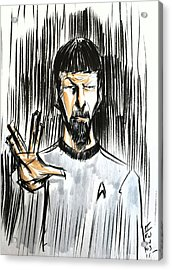 Live Long And Prosper...... Acrylic Print