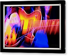 Acrylic Print featuring the photograph Live Music by Chris Berry