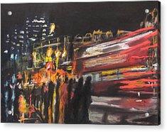 Liverpool Street London Acrylic Print by Paul Mitchell