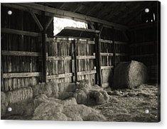 Livestock Barn In Kentucky Acrylic Print