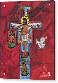 Living Christ Ascending Acrylic Print