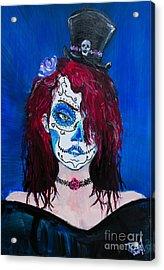 Living Dead Girl Acrylic Print