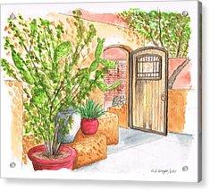 Living Desert Botanical Garden - California Acrylic Print