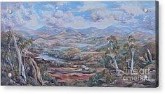 Living Desert Broken Hill Acrylic Print