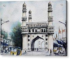 Living History Charminar Hyderabad Acrylic Print
