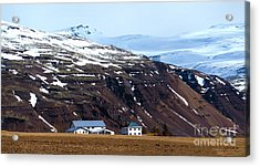 Living In Iceland Acrylic Print by Svetlana Sewell