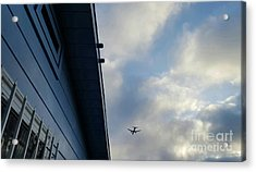 Living In The Landing Zone  Acrylic Print by Angela J Wright