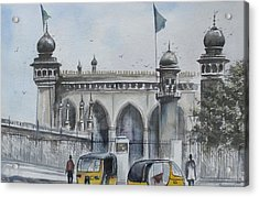 Living Legend Mecca Mazjid Acrylic Print