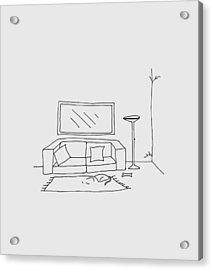 Living Room 001 Acrylic Print