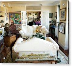 Living Room Iv Acrylic Print by Madeline Ellis