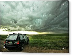 Living Saskatchewan Sky Acrylic Print