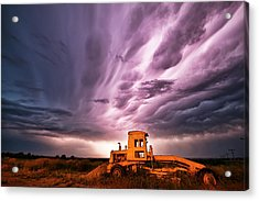 Living Sky In Nebraska Acrylic Print